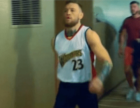 Conor McGregor Wears Jersey Of NBA Player Who Slept With Mayweather